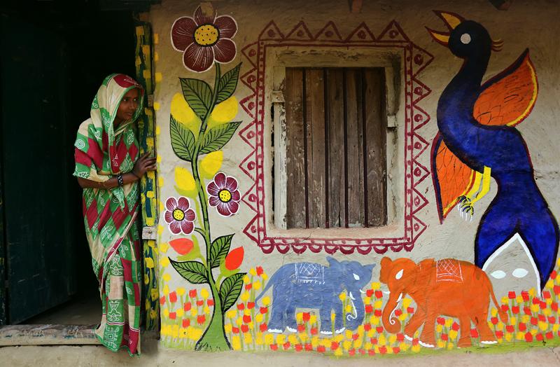জীবনচর্যায় পটচিত্র, বাংলার বুকে পটে আঁকা গ্রাম
