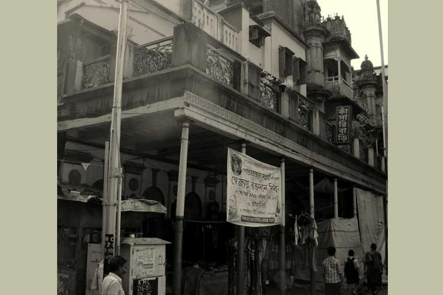 কলকাতার গাড়ি বারান্দা এবং পঙ্কজকুমার মল্লিক